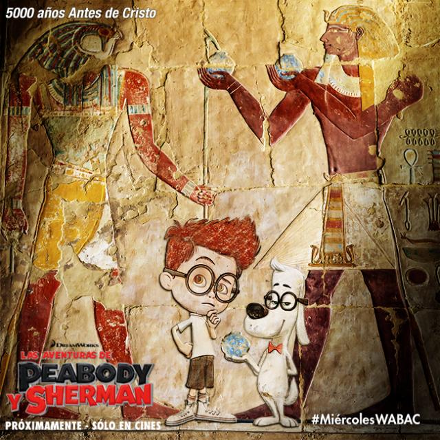 """Imágenes de la película """"Mr. Peabody & Sherman"""""""