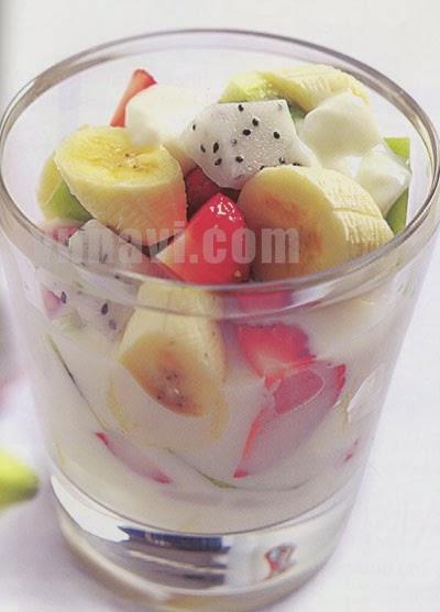 how to make banana yogurt