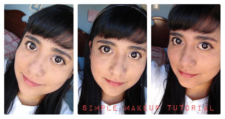 Summerday Simple Makeup Tutorial / Tutorial de Maquillaje para Verano.