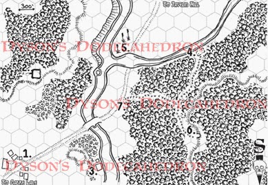 Cool overland map from Dyson's Dodecahedron 8