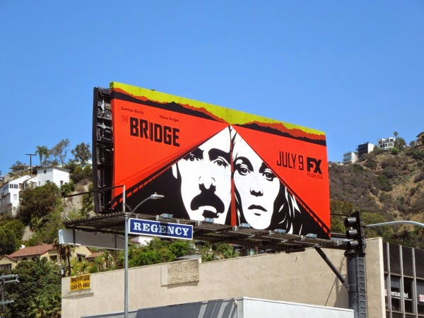 The Bridge season 2 USA billboard