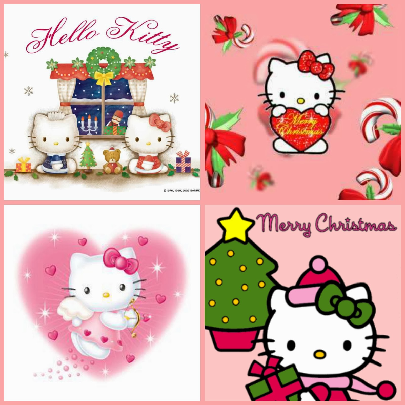 When Ive Looked For Pink Christmas Photos On Photobucket Id Find Tons Of Cute Hello Kitty Stuff Do You Love Too Here Are Some Coloring Pages