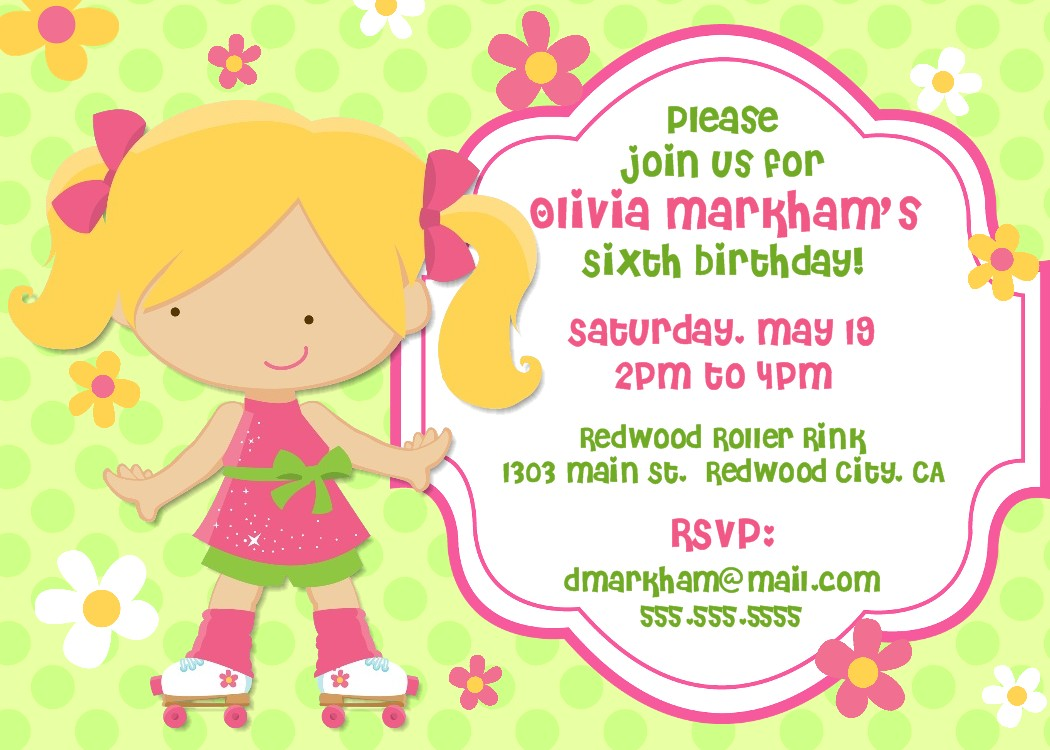 Invitations For Birthday