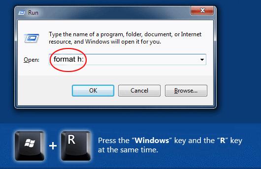 طريقة فرمتة الفلاش مموري عندما يتعذر فرمتتها format usb flash memory