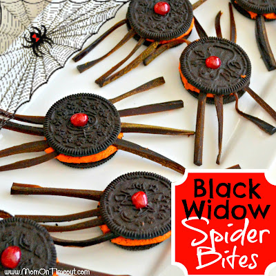 Black Widow Spider Bites | MomOnTimeout.com #Halloween #recipe