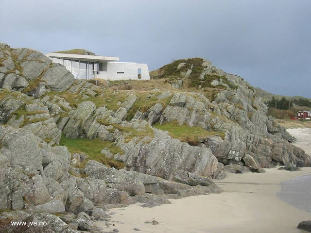 Casa de playa moderna en Noruega