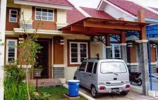 model atap teras rumah depan