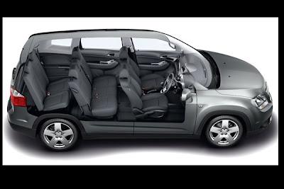 Chevrolet spin terbaru