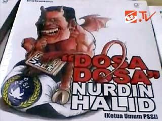 Buku Dosa-dosa Nurdin halid