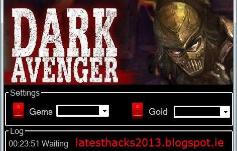 Dark Avenger herramienta tramposo descarga gratuita ninguna encuesta
