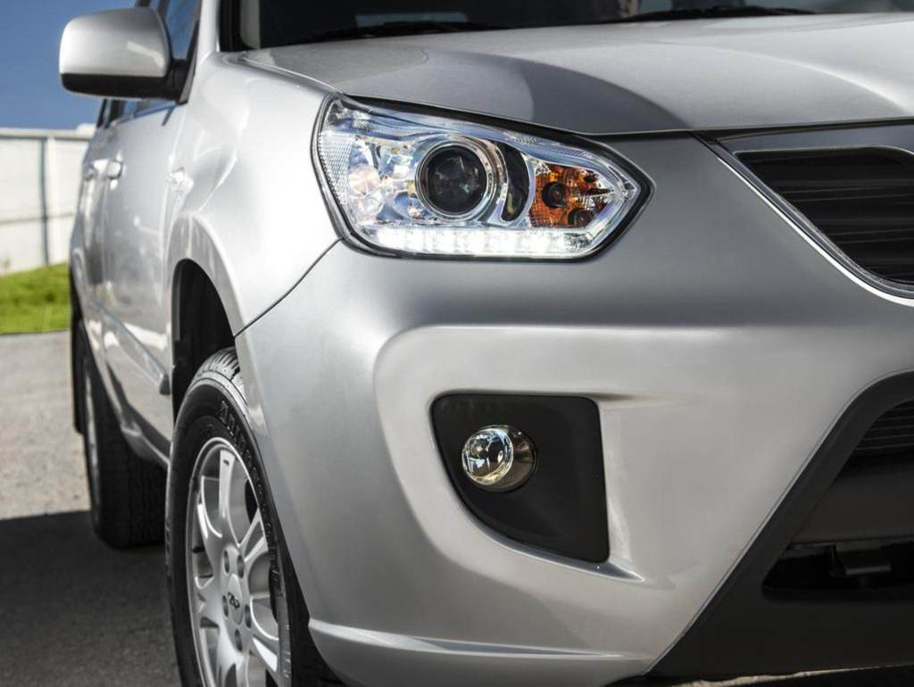 car on Chery Tiggo 2014