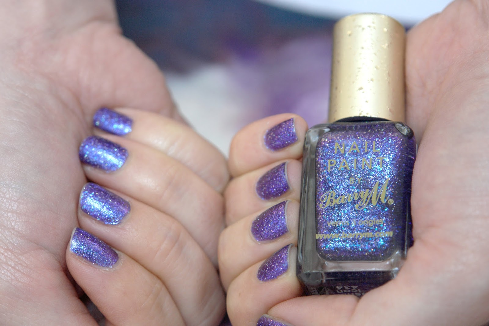 NAILS: Barry M Fashion Icon, Barry M, glitter, nail polish, nails, NOTD, Barry M The Glitterati Collection, The Glitterati, swatches, blogger