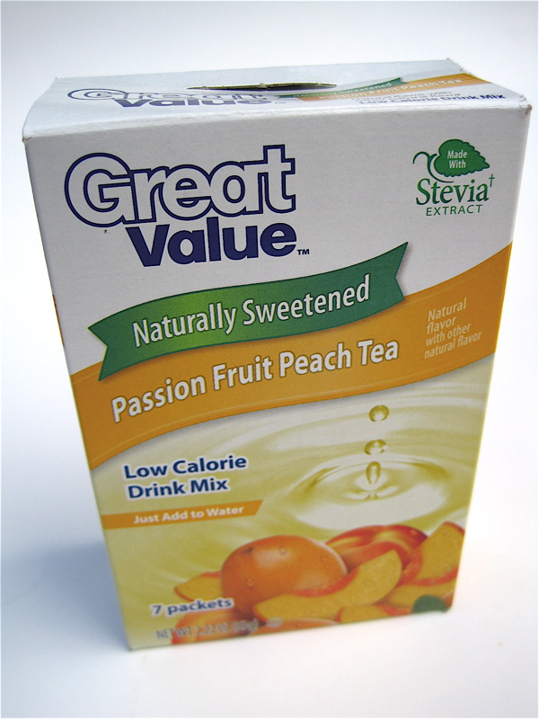 Tea With Friends: Passion Fruit Peach Tea with Stevia
