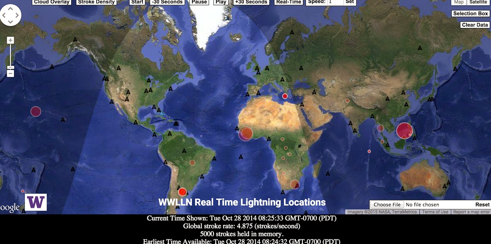 Cliff Mass Weather And Climate Blog Seattles Lightning Detection - Us weather lightning map