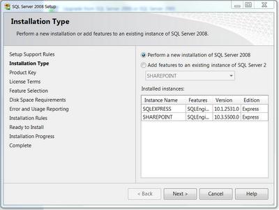 SSMS install type