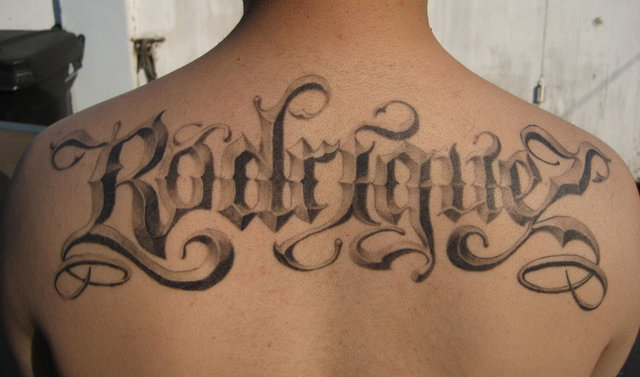 Tattoo Fonts Fonts
