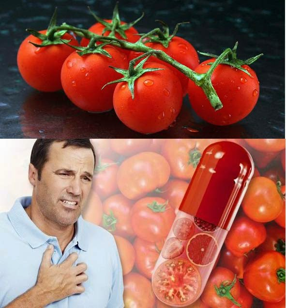 Tomato pill prevents heart attacks, improves blood vessels functioning