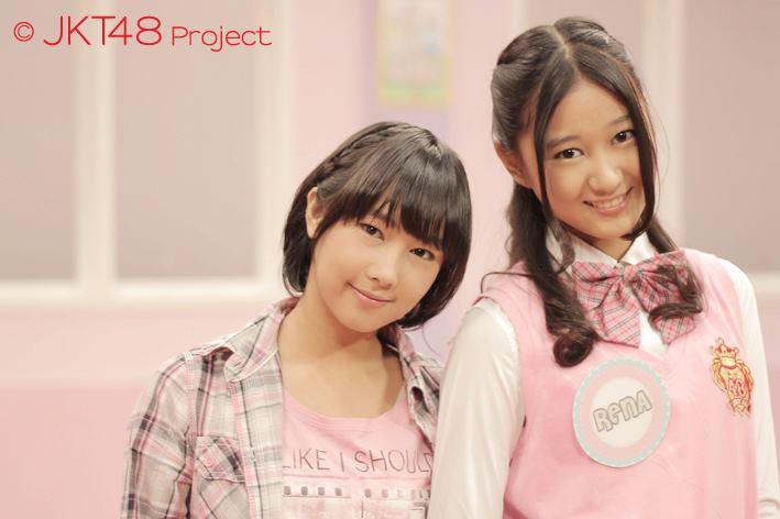 """Dhike dan rena """"JKT48 School episode3"""""""