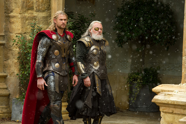 Thor The Dark World Thor Chris Hemsworth Odin (Sir Anthony Hopkins