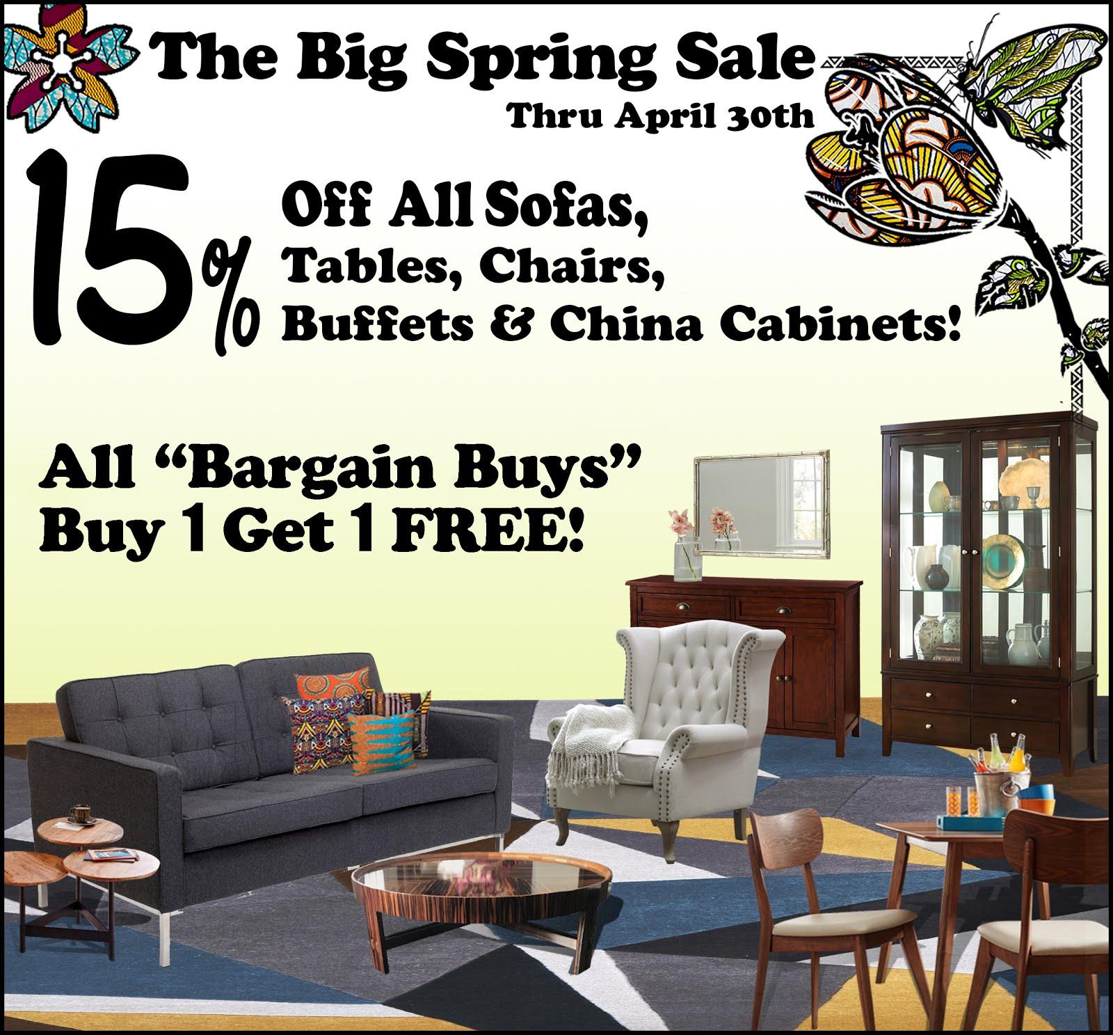 The Big Spring Sale!