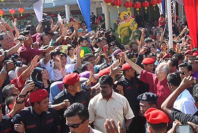 Najib gembira sambutan meriah Tahun Baru Cina di Penang