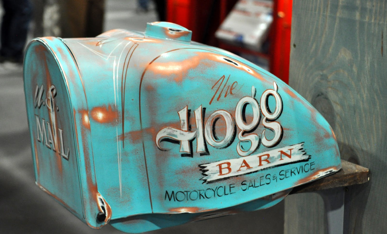 Just A Car Guy Cool Mailbox From A Motorcycle Gas Tank