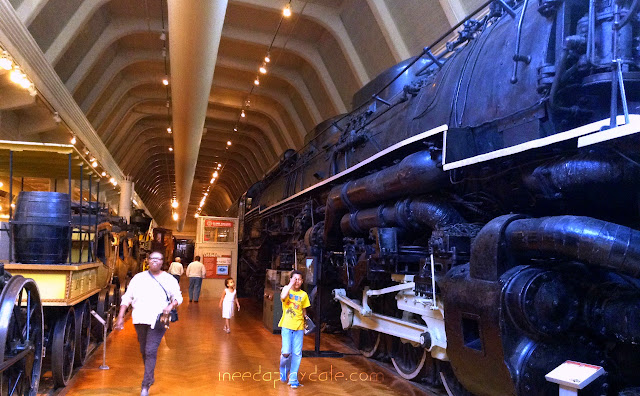 Reason 2 The Trains at Henry Ford Museum  | iNeedaPlaydate.com @mryjhnsn