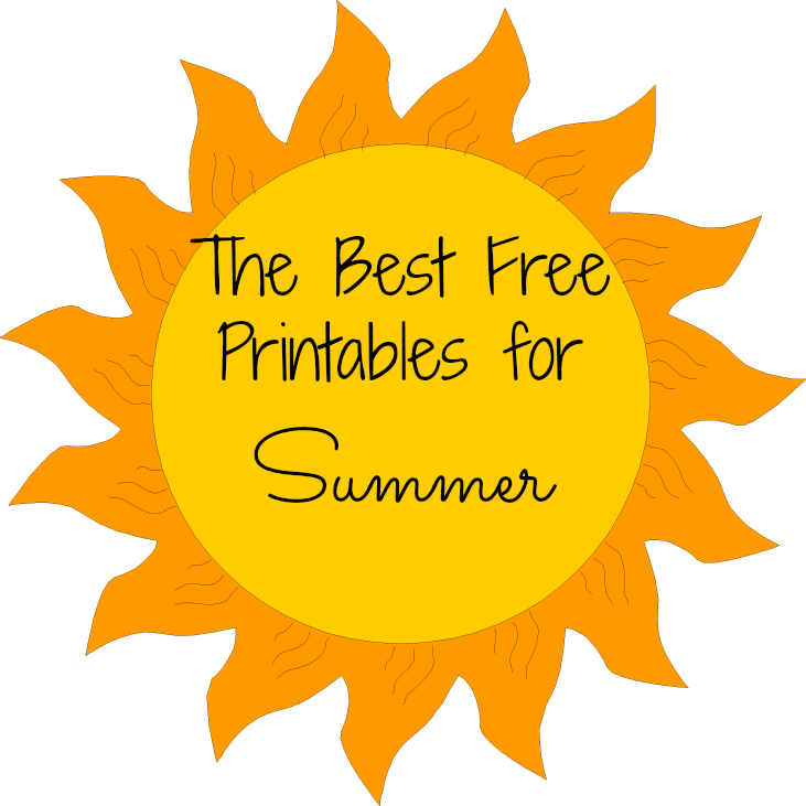 This is an image of Ridiculous Free Summer Printables