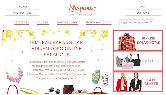 Online Shop: Shopius - Belanja dan Berjualan Lebih Mudah