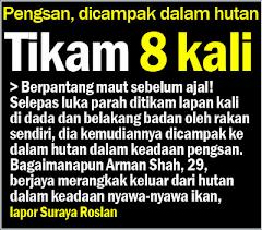 Tikam 8 Kali