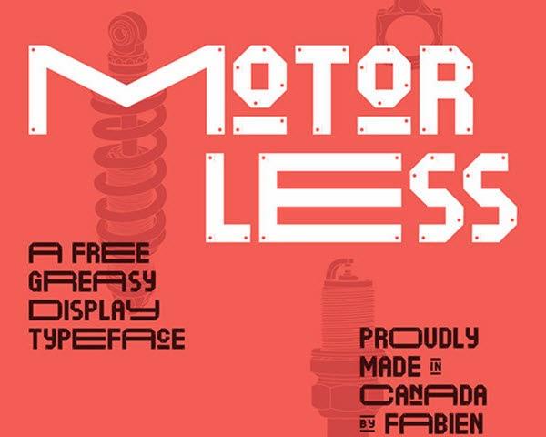 Motorless free fonta