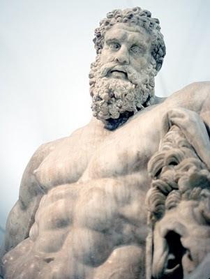 Hércules, Atlas, Moisés
