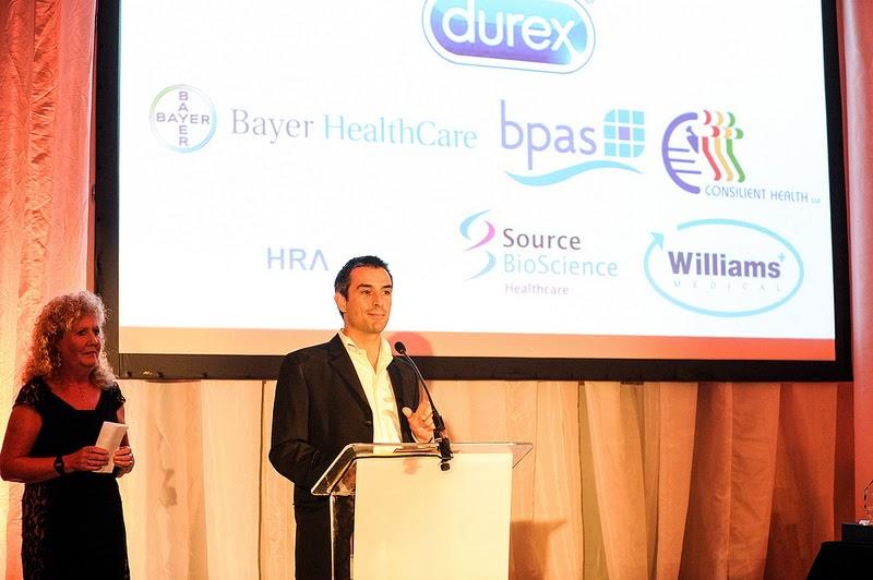Simon Blake at the UK Sexual Health Awards 2014