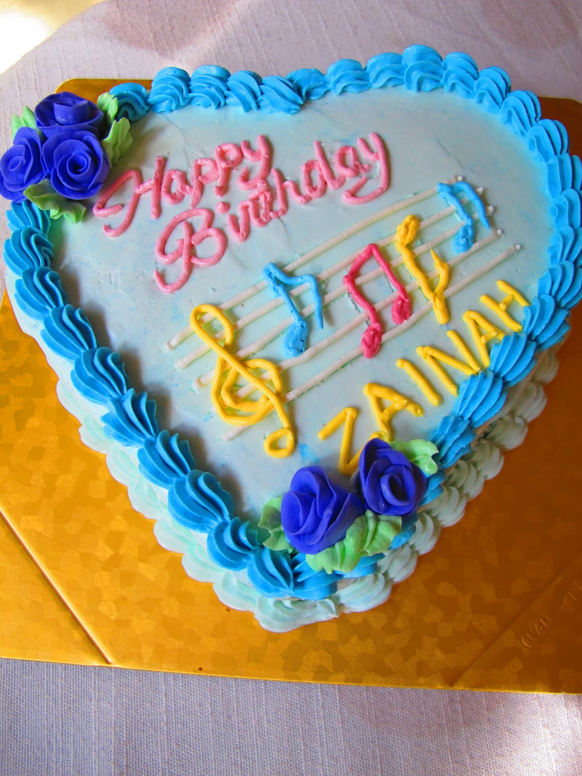 Tortelicious Music Themed Birthday Cakes