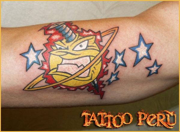 Las mejores fotos de Tatuajes para que puedas conocer como quedan en todas las zonas del cuerpo, así como también todo tipo de tatuajes para que disfrutes de obras de artes:  01_estrellas_azules
