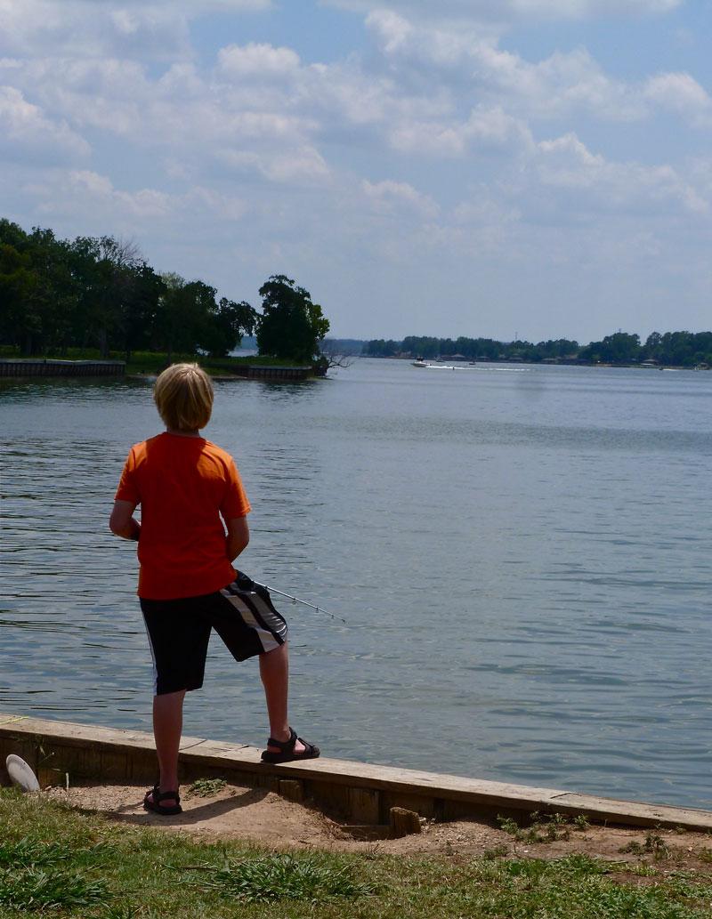 Where 39 s eldo lake conroe thousand trails for Lake conroe fishing