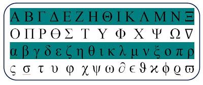 Symbole facebook lettre grecque