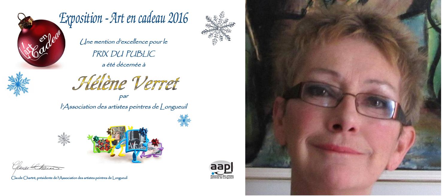 Art en cadeau 2016: Prix «COUP DE COEUR»