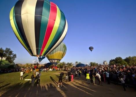 כרטיסים לפסטיבל כדורים פורחים בפארק אשכול ומעיין חרוד 2014