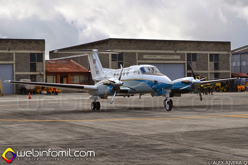 C-12 Hurón King Air Colombia