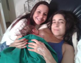 Nasceu o Levi, bebê surpresa, após 42 semanas + 2 dias de gestação, em um parto normal humanizado!