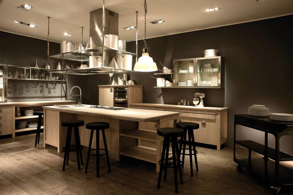 Decoraci n de cocinas diesel decoraci n - Cuisine retro moderne ...