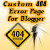 Awesome Stylish 404 Error Pages For Blogger