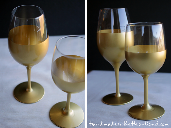 What type of spray paint to use on glass how to use and for Type of paint to use on wine glasses