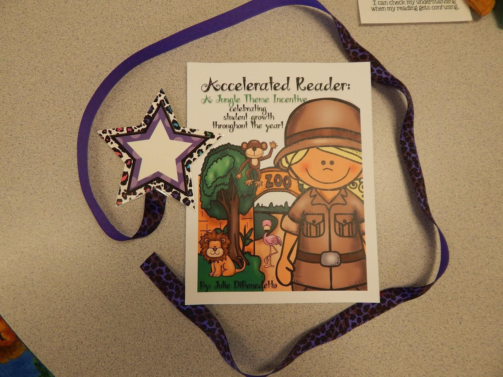 http://www.teacherspayteachers.com/Product/Acclerated-Reader-Jungle-Theme-Brag-Tag-Incentive-Program-1435375