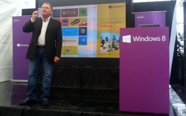 Microsoft lanza Windows 8 en Latinoamérica