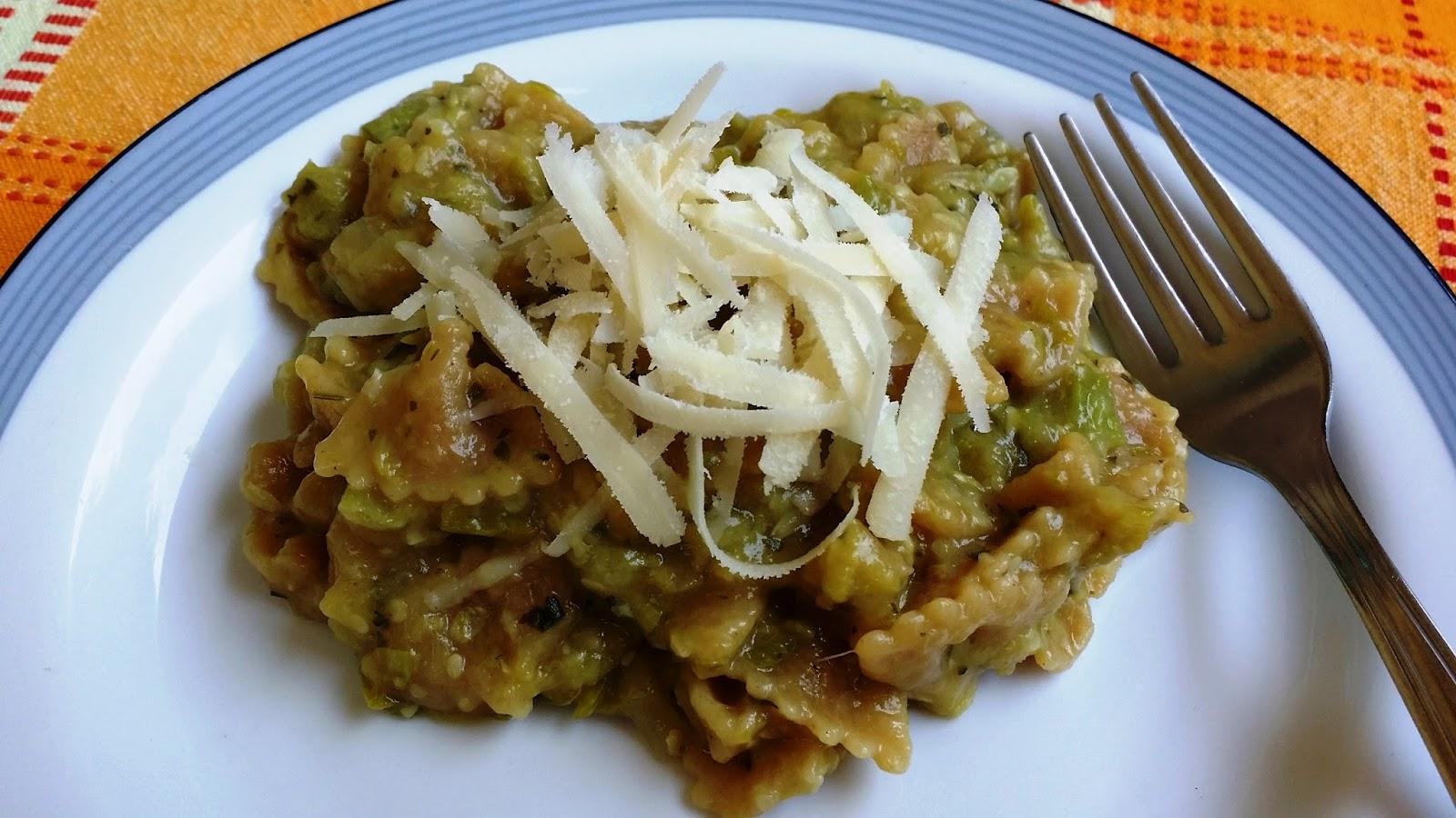 Ricetta pasta risottata zucchine bimby