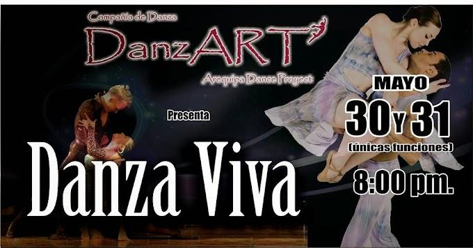 Danza Viva en Arequipa - 30 y 31 de mayo