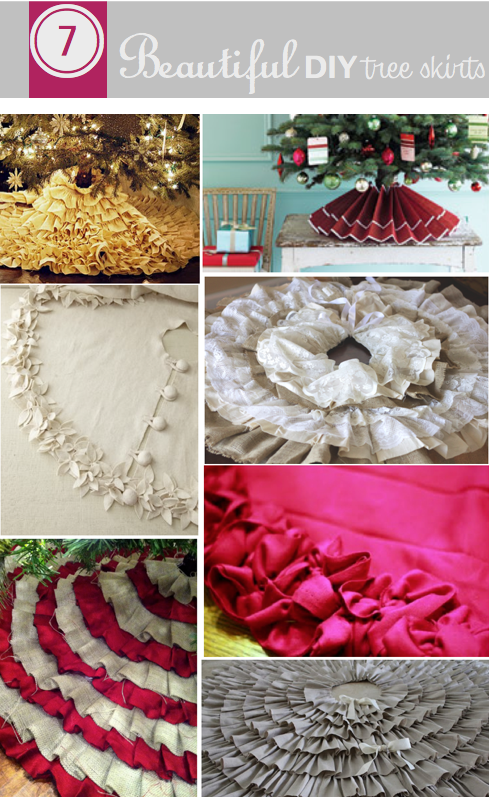 Do It Yourself Divas Diy 7 Beautiful Tree Skirts