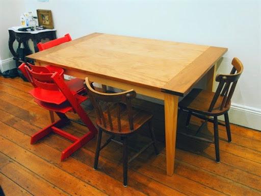 Meja makan dari jati belanda 6 kursi
